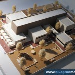 Archeologic Research Facilities Architectural Scale Model