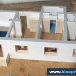 Scale Model Interior House