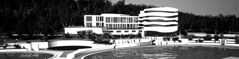Balnear Center Near Danube River Architectural Renderings HEADER