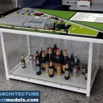 Bergenbier Factory Architectural Scale Model