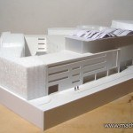 Architectural model Multifunctional Centre