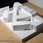 Architectural Scale Model Multifunctional Centre