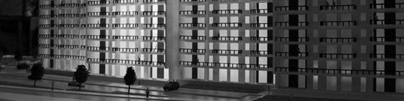 City Point Residential Buildings Architetural Scale Models HEADER