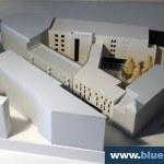 Cultural Centre Architecture Model