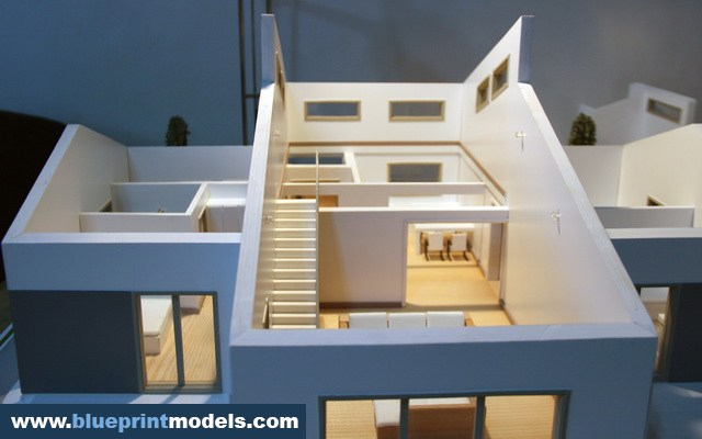 Demountable Architectural Scale Model House
