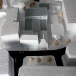 cultural centre scale model