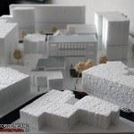 cultural centre monochrome model