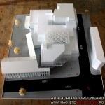 white scale model monochrome