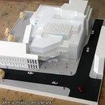 monochrome scale model