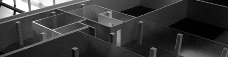Expositional Pavilion Architectural Scale Model HEADER