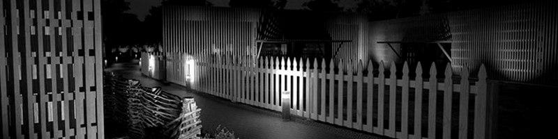 Exterior Night Renderings in Village Camp Architectural Renderings HEADER