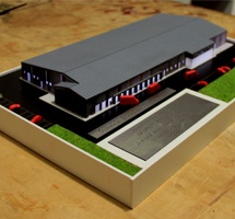 Factory Architectural Scale Model