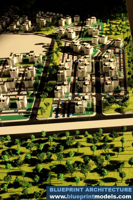 Greenfield Residential District | Architectural Scale Models