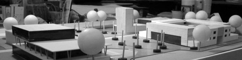 Heritage Center Architectural Scale Model HEADER