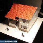 single family house residence model