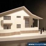 House Architectural Scale Model