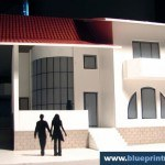 Family House Architectural Scale Model