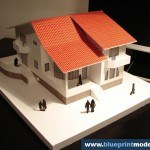 Highschool House Project Architectural Scale Model