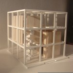 Architectural Model cube house