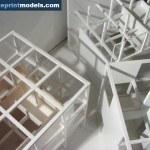 Cube Concept Architectural Scale Model