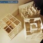 Concept Architectural Model cube