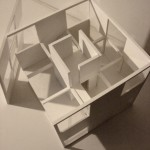 Architectural Model cube house2