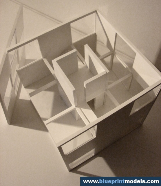 3d Exterior House Designs: Conceptual Scale Model – Artist Residence