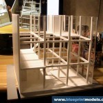Cube Concept Architectural model