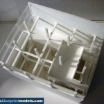 Architectural Model cube house3