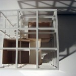 Architectural Model cube house5