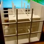 Cube Concept Architectural Scale Model3