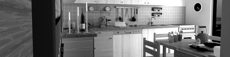 Interior Apartment Design Architectural Renderings HEADER
