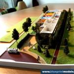 Kindergarten 1:100 scale model