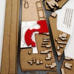 Concept Buildings Architectural Model