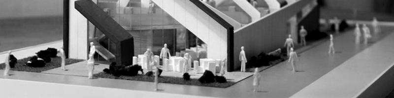 Milano Pavilion Architectural Scale Model HEADER