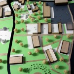 Campus Area Architectural model