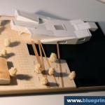 Navy Center in Helsinki Finland Architecture Model