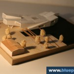 Navy Center Helsinki Architecture Model