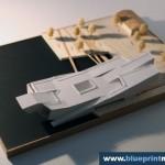 Navy Center Helsink Scale Model