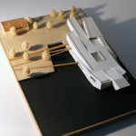 Navy Center Finland Architectural Scale Model
