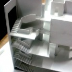 Olympic Hotel Architectural Scale Model