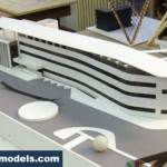 Olympic Hotel Scale Model