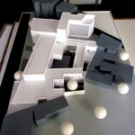 School Architectural Scale Model