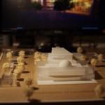 Philharmonic Center Scale Model