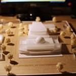 Philharmonic Center architecture model