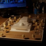 architecture model Philharmonic Center