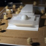 Philharmonic Center architectural model making