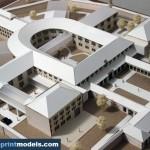 Doftana Prison Facilities Architectural Scale Model