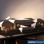 Doftana Prison Facilities Scale Model
