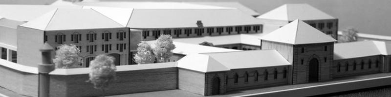 Prison Facilities Architectural Scale Model HEADER